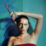 Alexa Meade Self Portrait