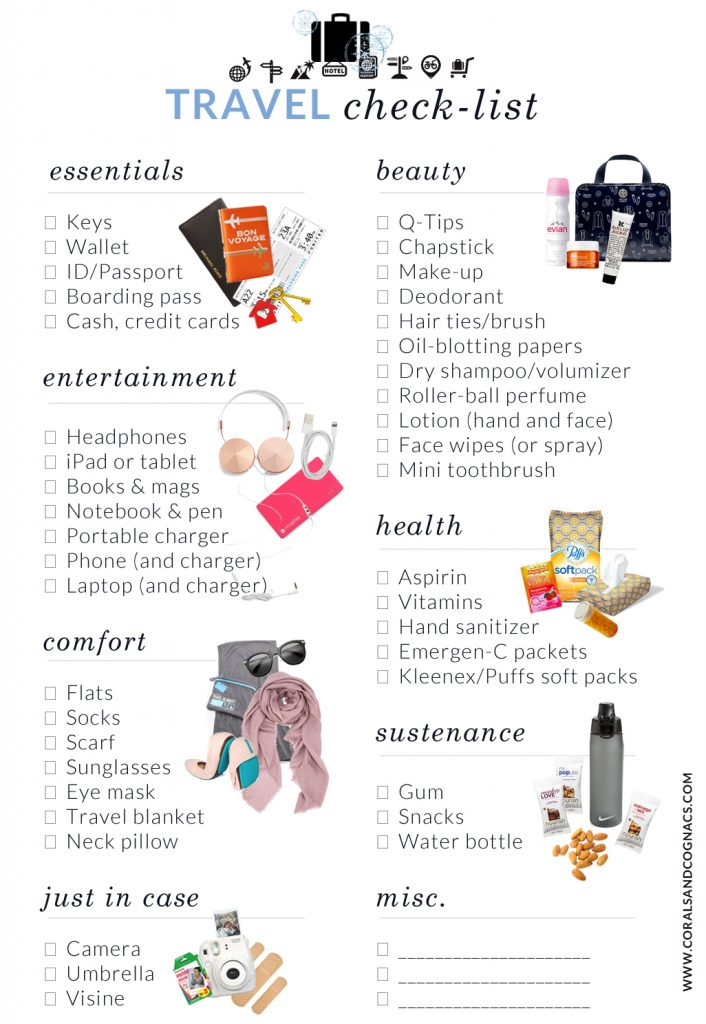 travel-checklist-packing