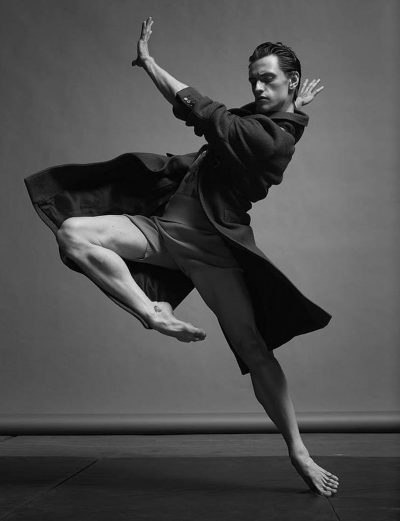 Polunin modeling Marc Jacobs for Numéro Homme