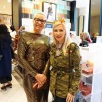 Britta Kroger and Katrina Olson Simons Opening Calgary