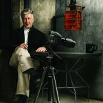 David Lynch Sitting