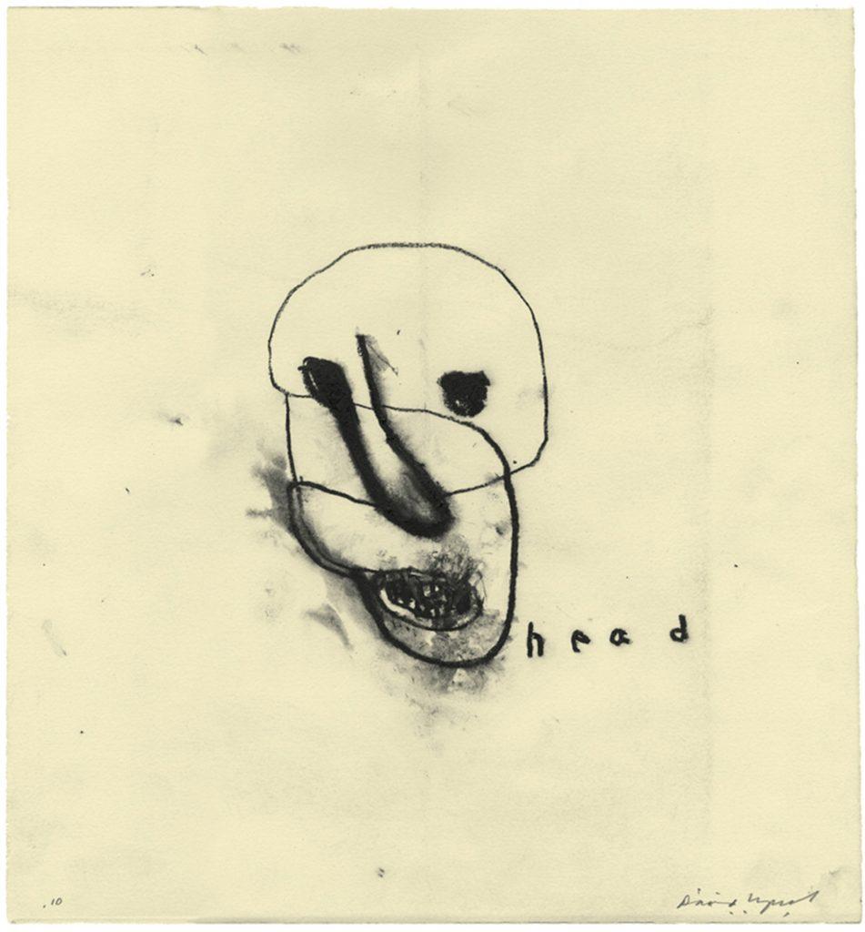David Lynch Art Head
