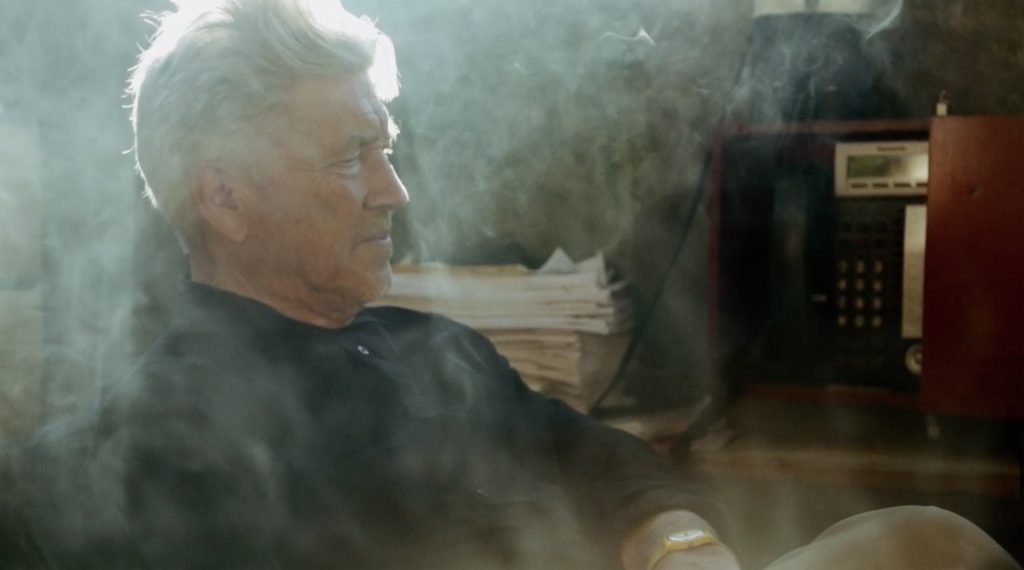 David Lynch film still smoke everywhere