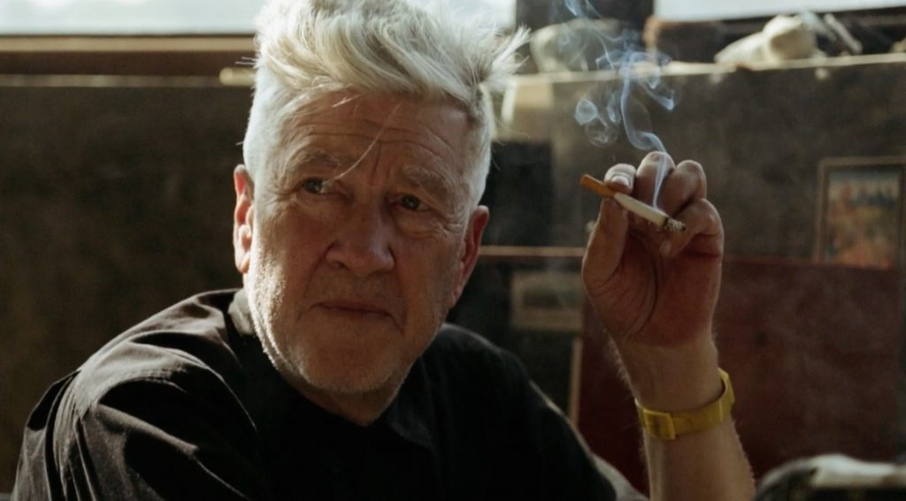 Smoking David Lynch The Art life film still