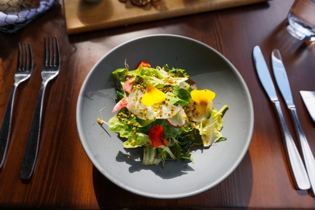 Salad at River Cafe Katrina Olson