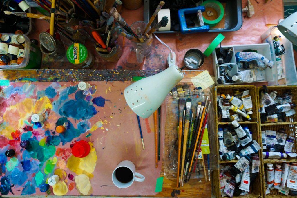 Audrey Mabee studio