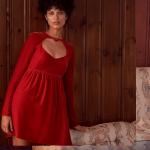 Chloe Velvet heart dress saks 5th avenue canada