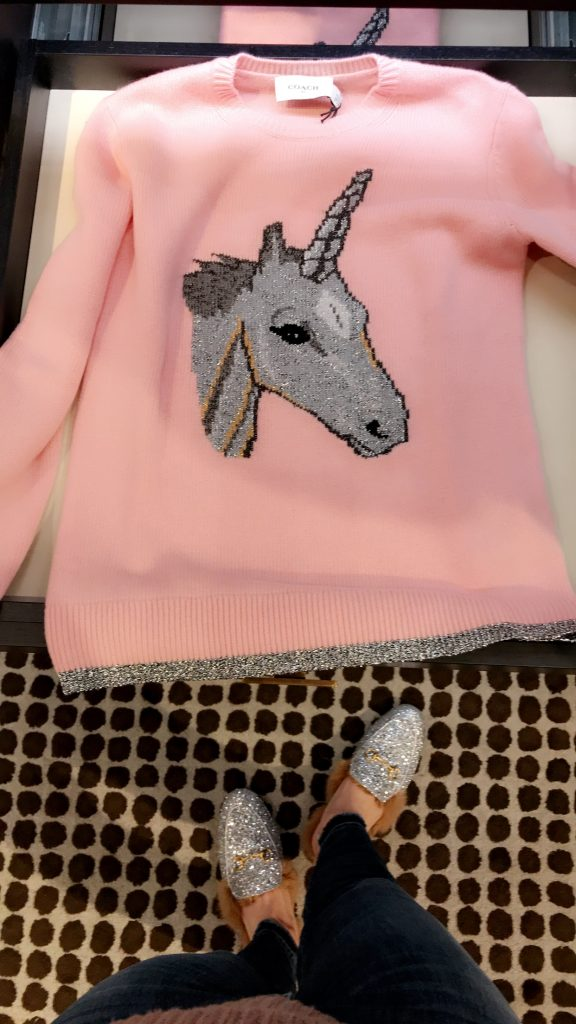 Coach Create Unicorn Sweater
