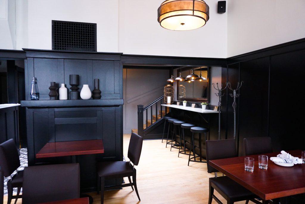 Cilantro Restaurant Calgary Interior