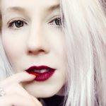 Charlotte Tilbury matte revolution lipstick in Opium Noir