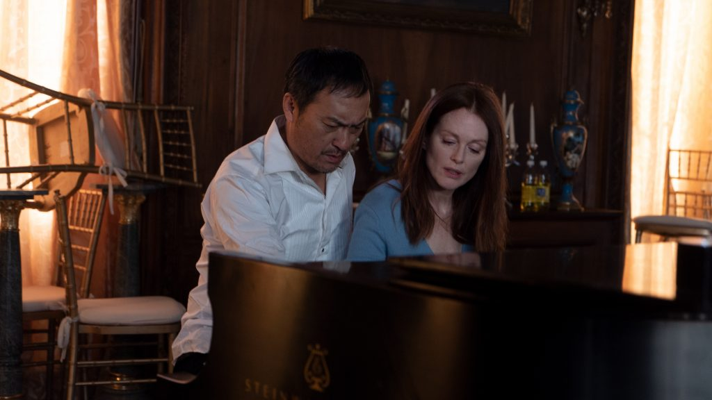 Bel Canto film still at piano
