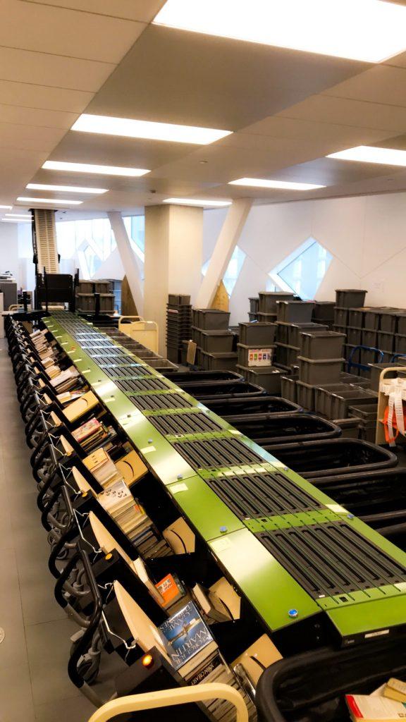 Calgary Central Library robot