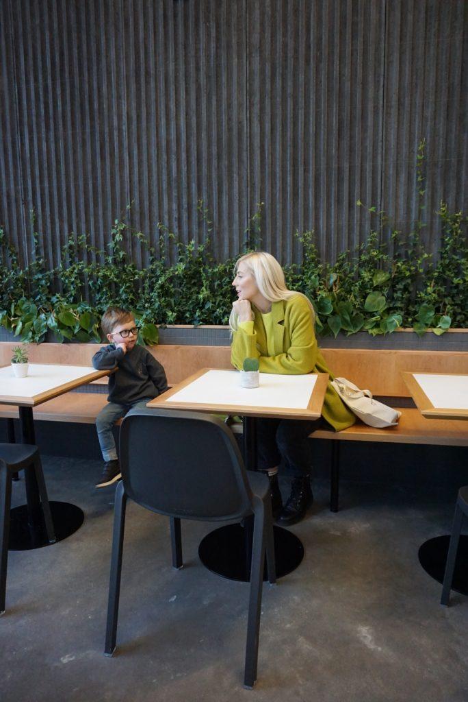 Calgary Central Library luke's cafe katrina