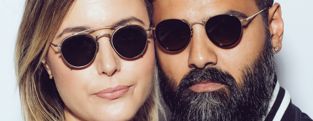Dutil eyewear couple