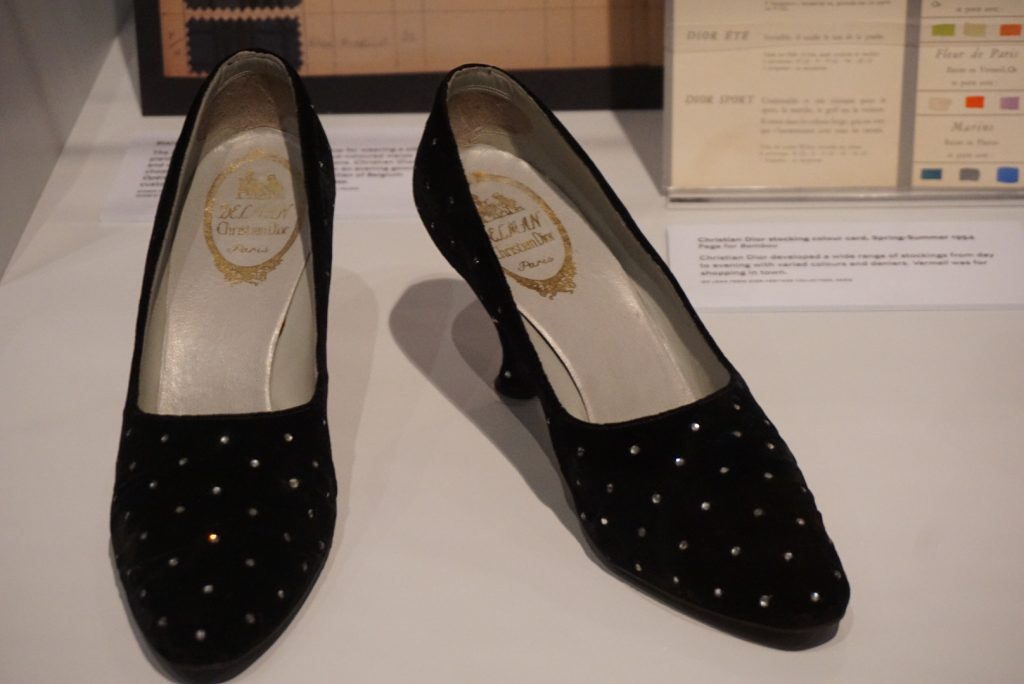 Dior shoes at Glenbow