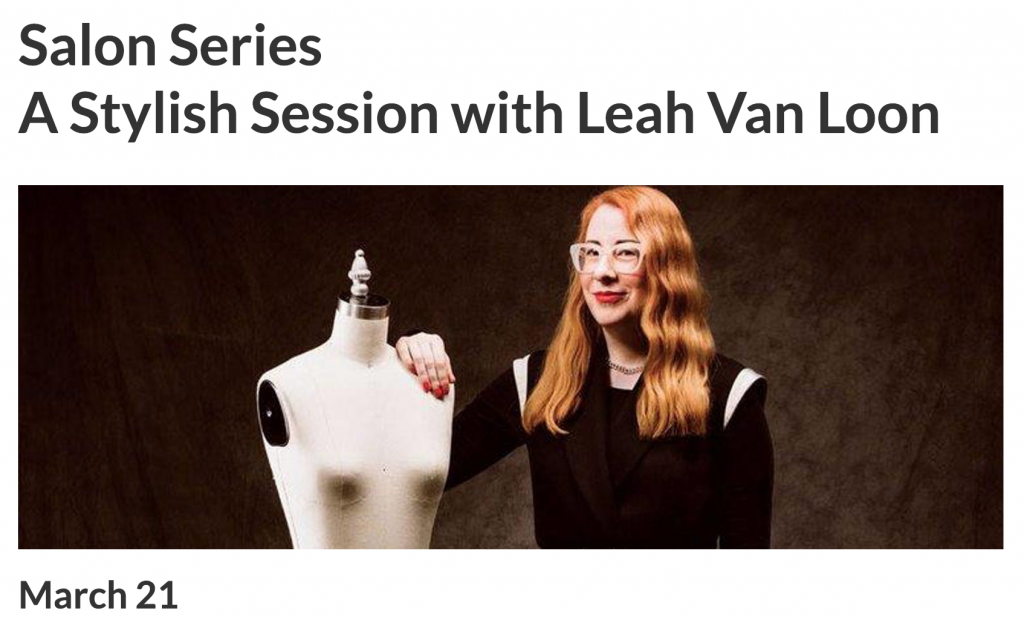 Glenbow Dior Salon Series A Stylish Session with Leah Van Loon