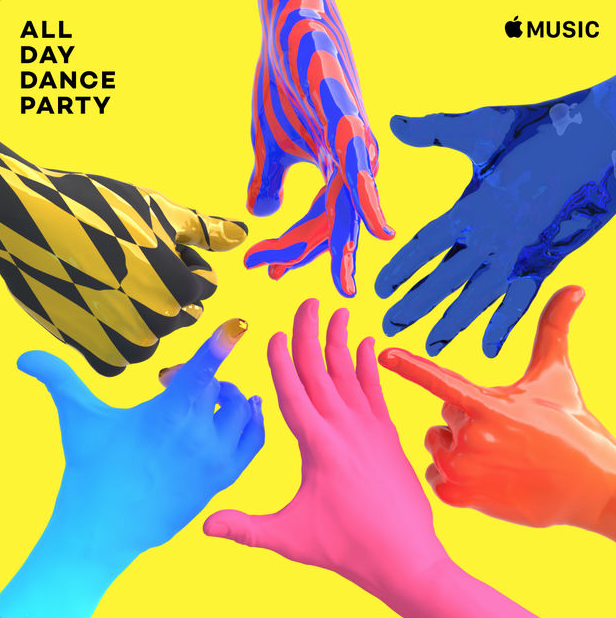 All day Dance Party Apple Music Project Athlete