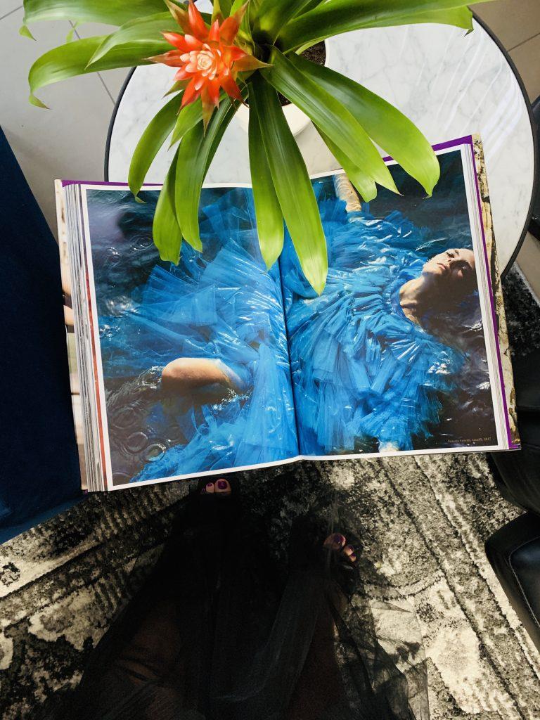 Ciao! Taschen Mario Testino blue dress