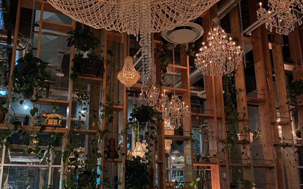 Orchard Restaurant Chandeliers