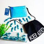 Katrina Olson-Mottahed KENZO x H Project x Blue Marine Foundation for Holt Renfrew with dust bag