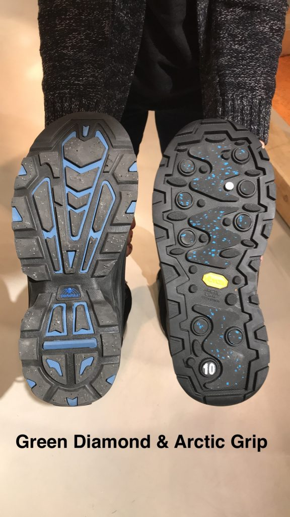 Marks Green Diamon Technology and Arctic Grip Boots