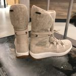 SPERRY Women's Powder Arctic Grip Winter Boots on ice