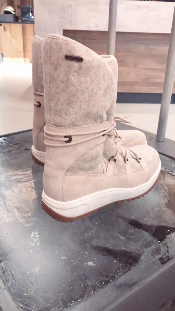 SPERRY Women's Powder Arctic Grip Winter Boots Marks