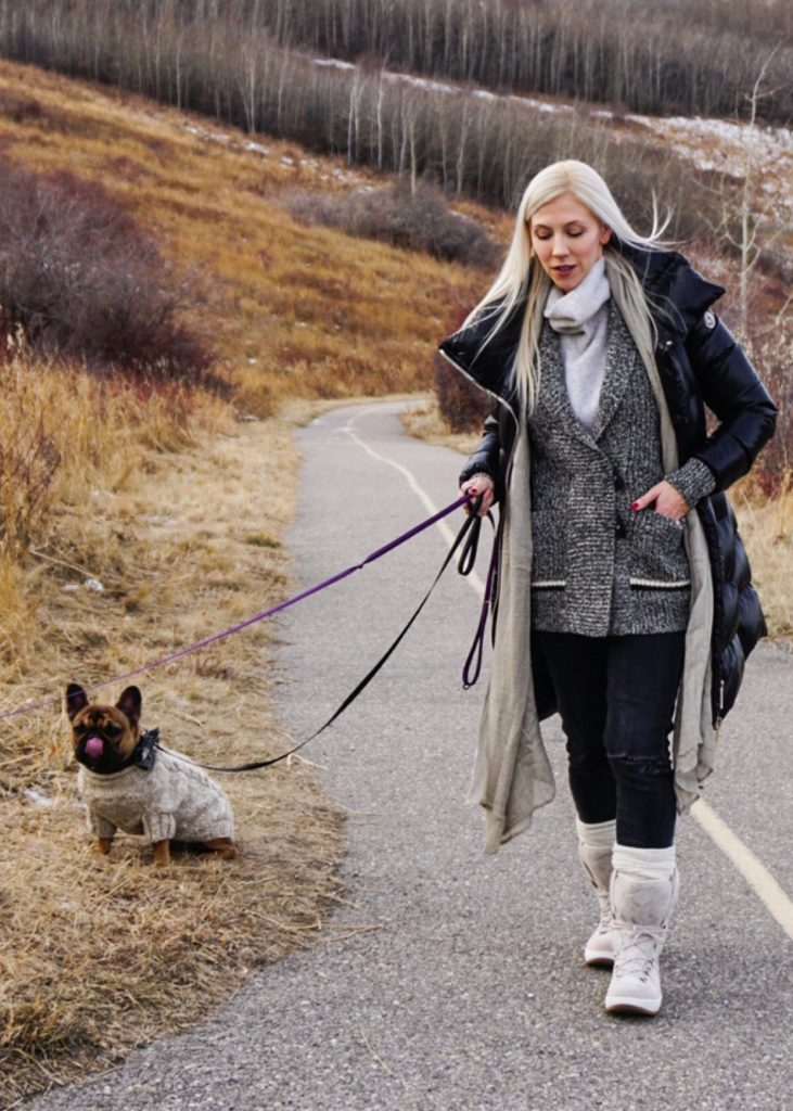 SPERRY Women's Powder Arctic Grip Winter Boots on Katrina Olson