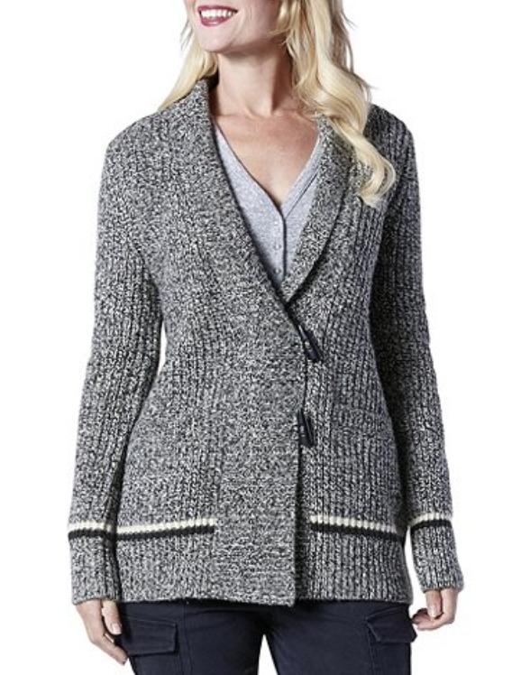 FARWEST Cabin Fever Toggle Cardigan Mark's