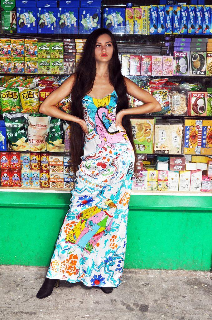 hong kong pop maxi slip_emailable image jessica russell flint art