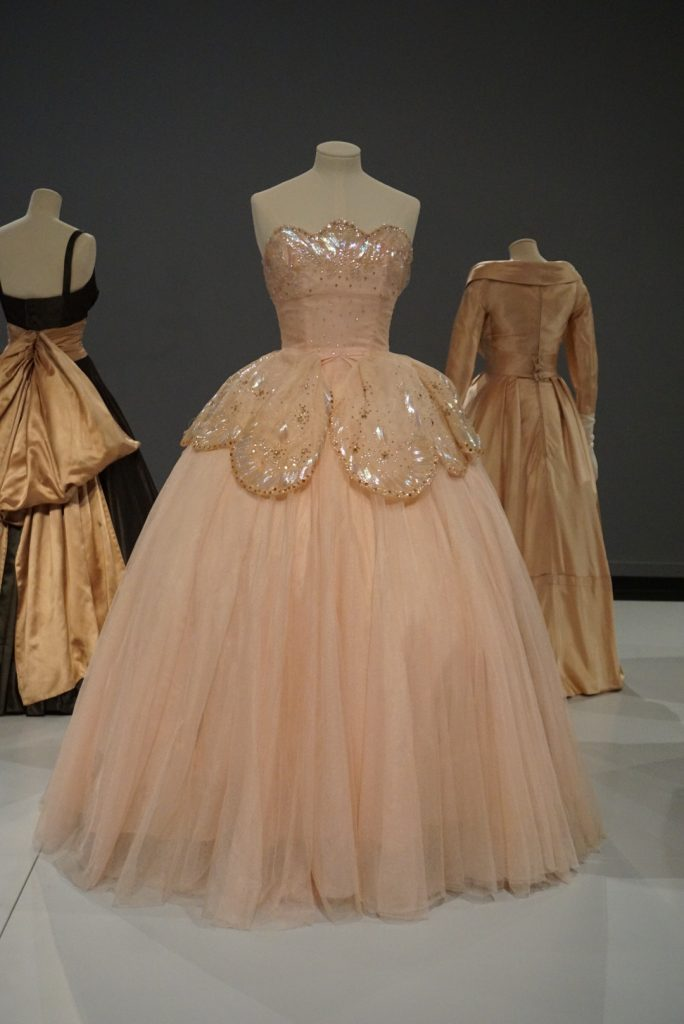 Sequin pink dress Dior at Glenbow