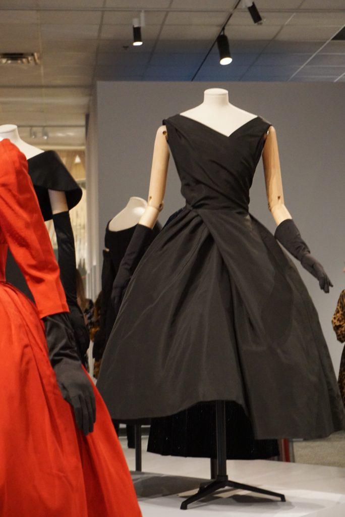 Dior little black dress at Glenbow