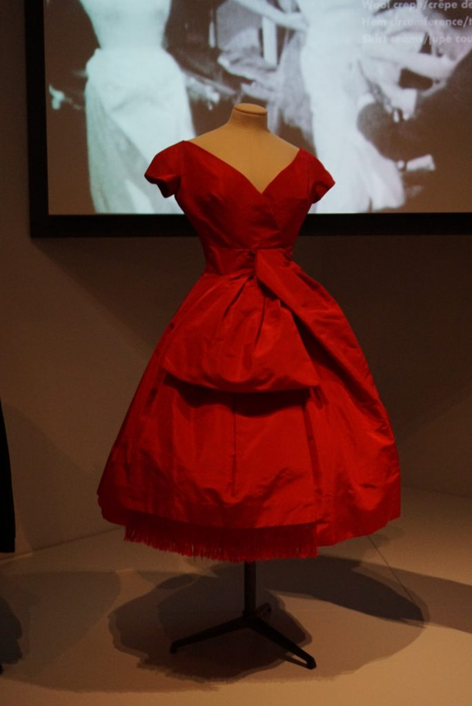 Dior at Glenbow Red Dress