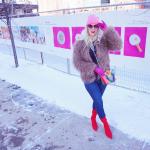 Katrina Olson at the Fence in Calgary