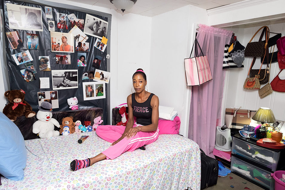 Tracy-bedroom Life after Prison Sara Bennett The Fence