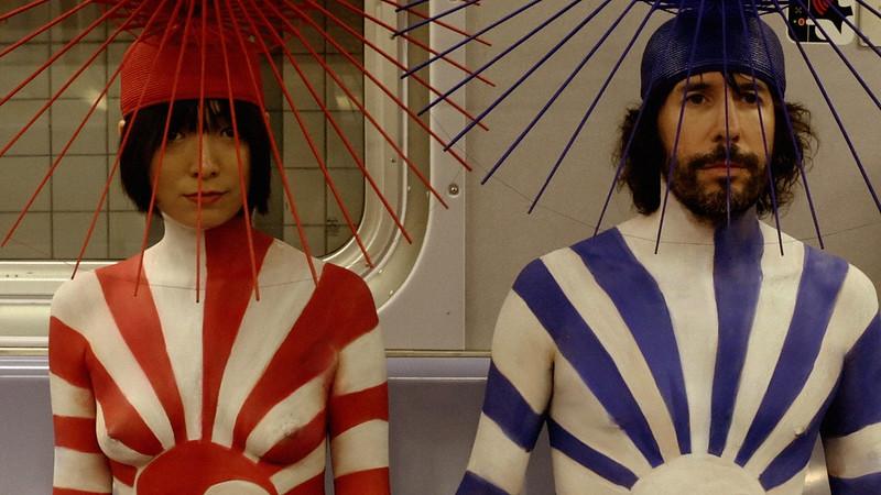 Shoot to Marry film still of Steve Markle and hat maker Heidi Lee