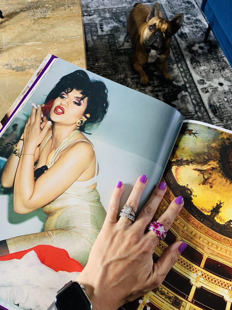 Ciao! Taschen Mario Testino smoking woman