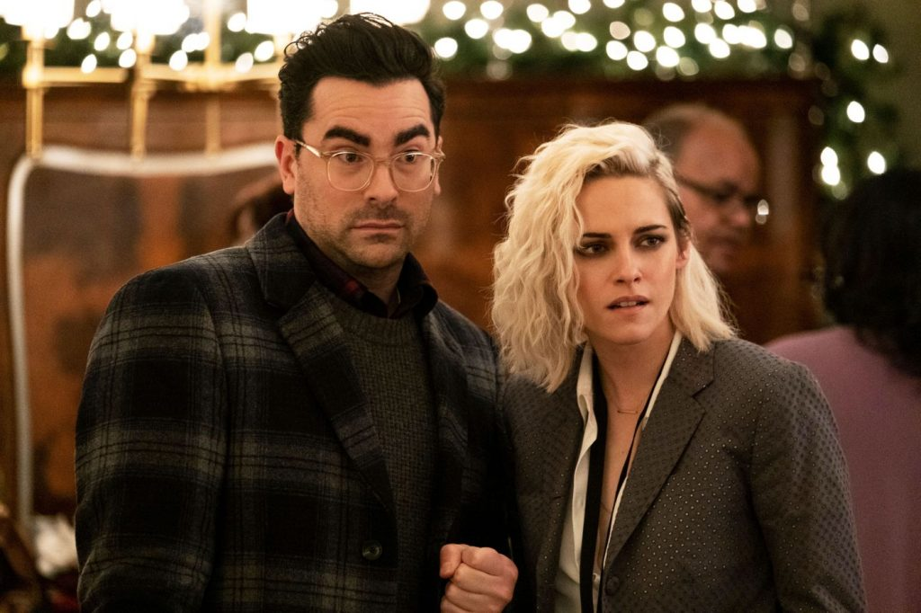 Happiest Season Dan Levy Kristen Stuart